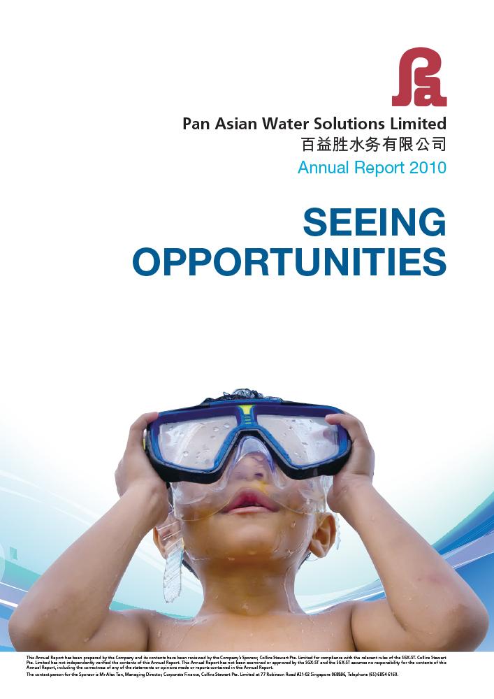 Pan Asian Holding AR 2010