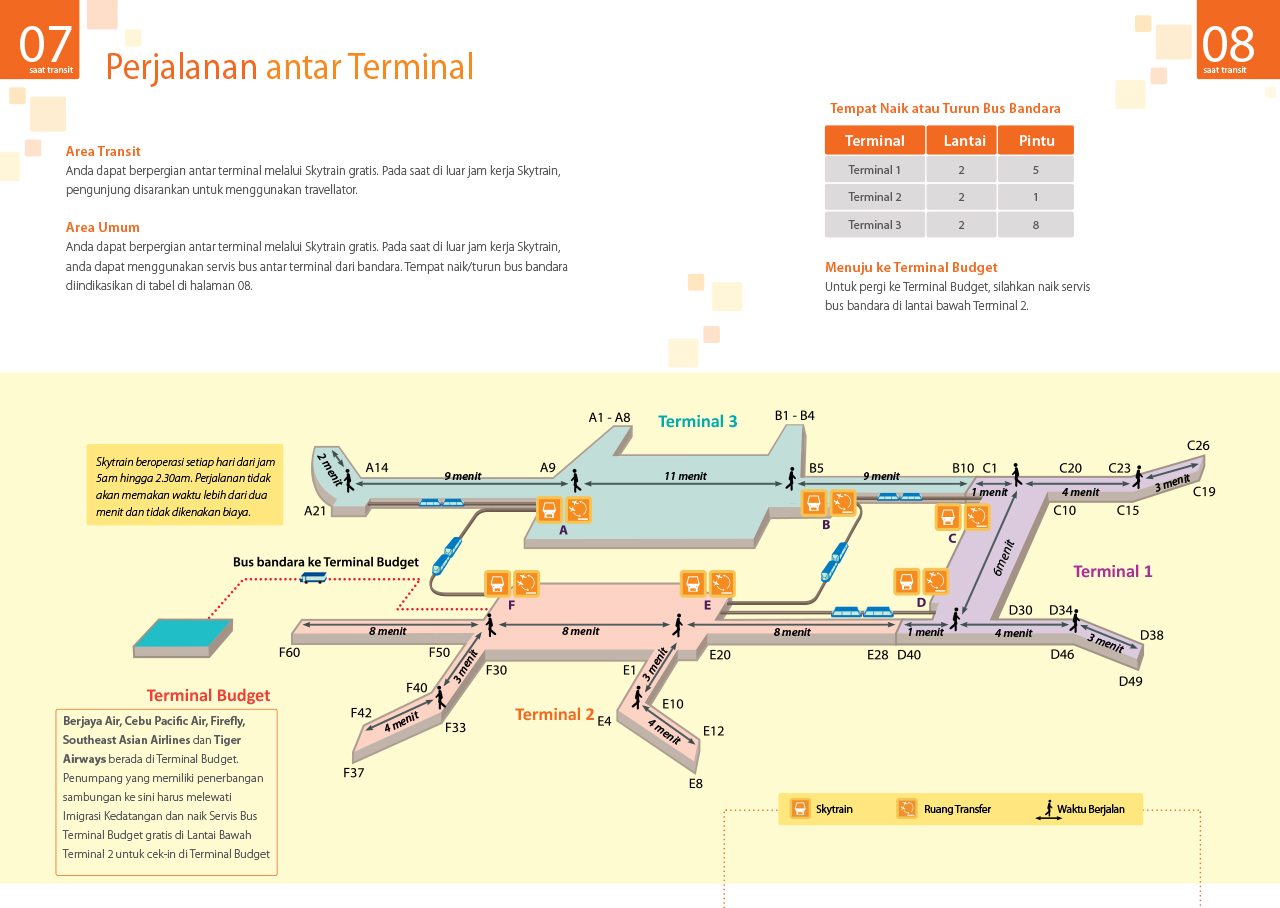 CAS Airport Guide