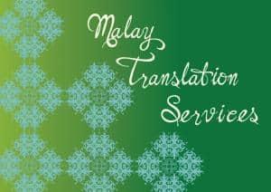 Malay Translation Services Singapore