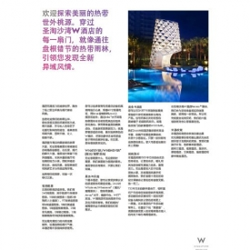 W Hotel Fact Sheet (Chinese)